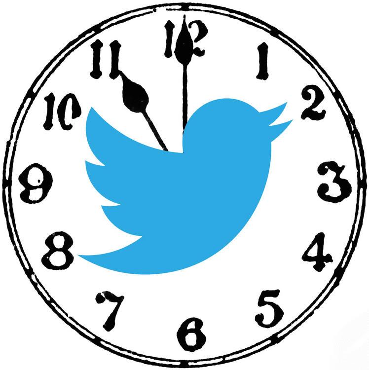 tweet paylaşım zamanı